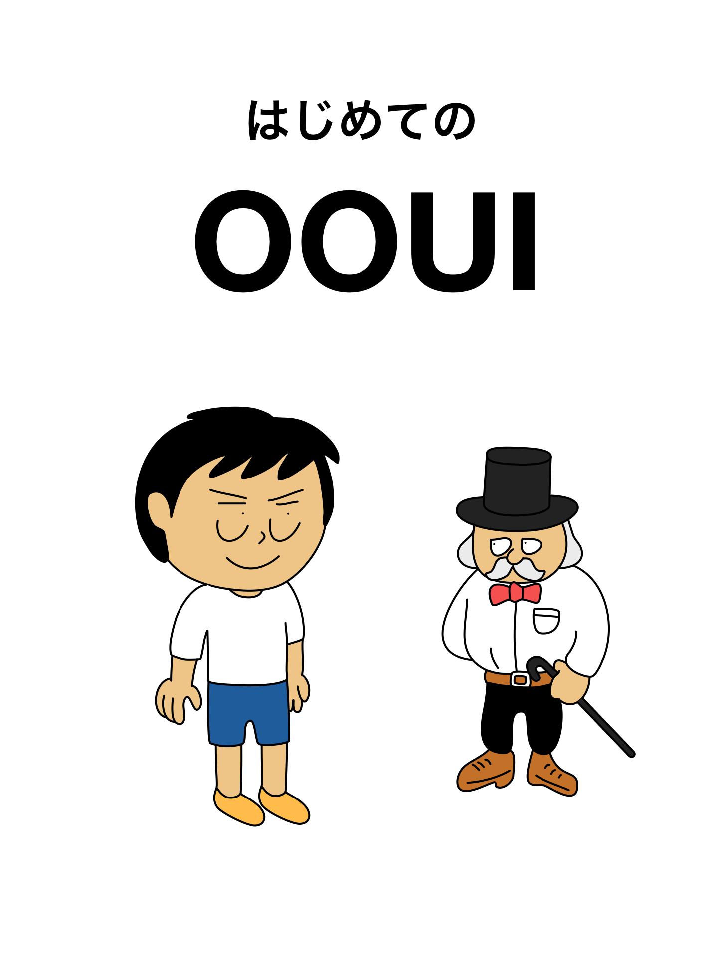はじめてのOOUI 表紙